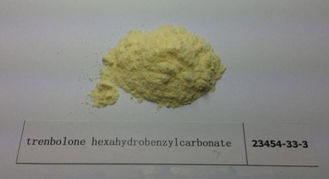 Raw Steroid Powder Trenbolone Hexahydrobenzyl Carbonate / Parabolan CAS 23454-33-3 Muscle Building Anabolic Steroids